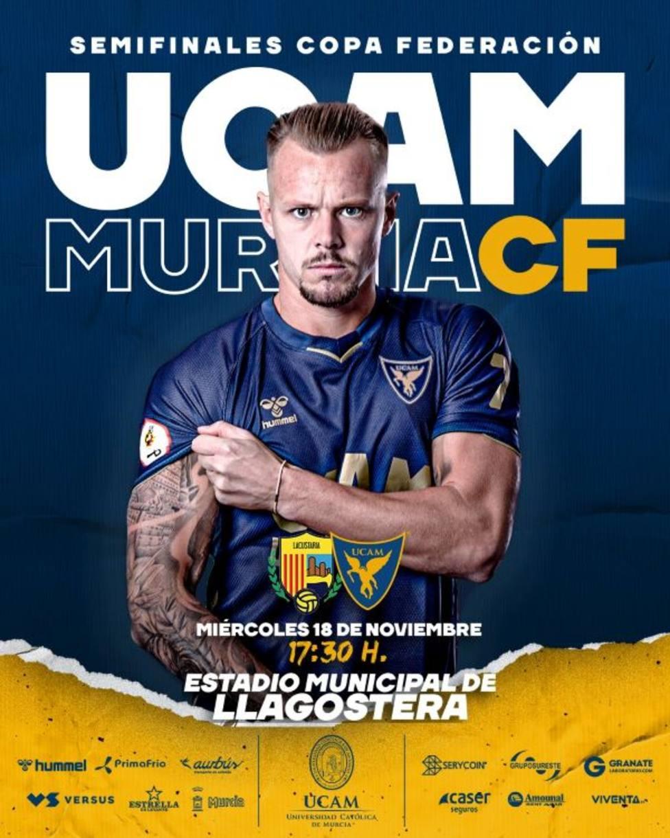 UCAM Murcia CF buscará el pase a la final ante el Llegostera