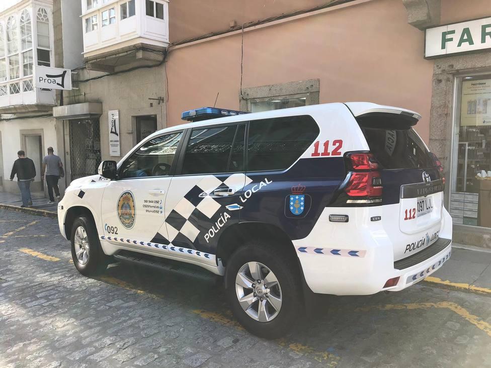 Foto de archivo del nuevo 4x4 de la Policía Local de Ferrol