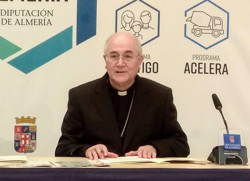 Almería.- Coronavirus.- El obispo de Almería, en aislamiento preventivo tras estar en contacto estrecho con un positivo