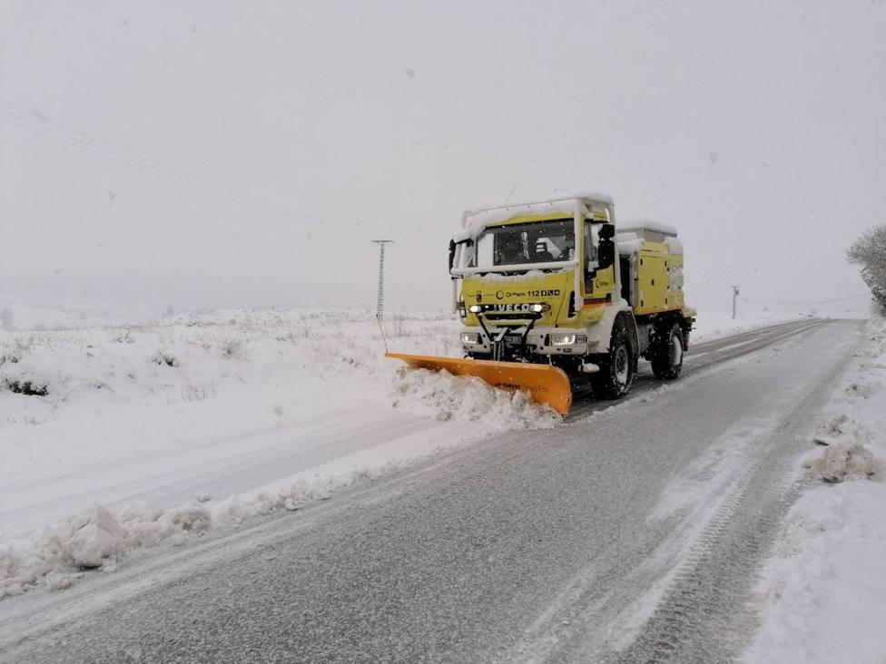 La Comunidad insta a extremar la precaución en 18 carreteras regionales, ninguna cortada al tráfico