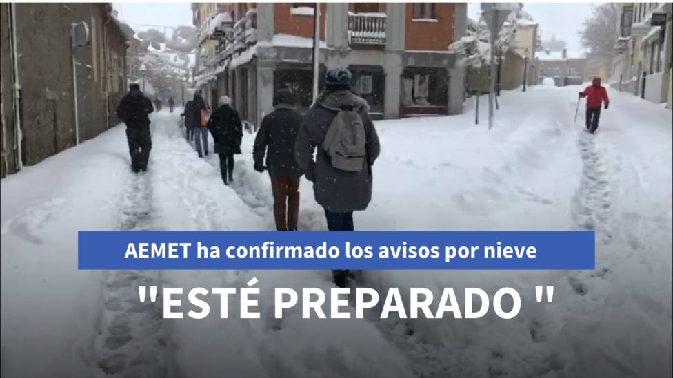 Meterorología confirma: Esté preparado, Filomena es la tormenta de nieve perfecta