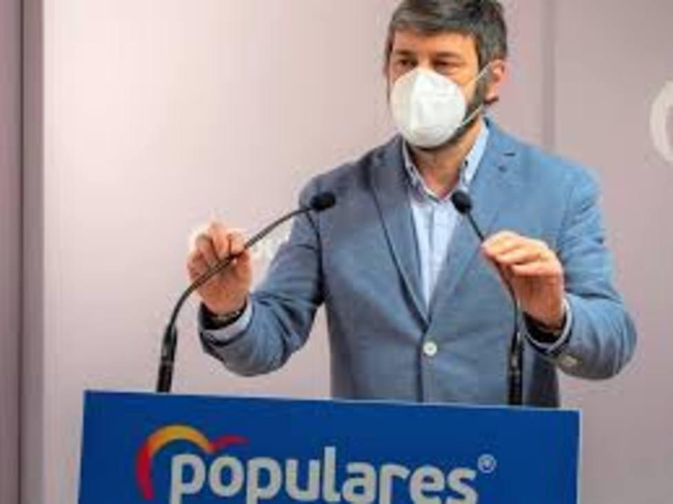 Gerardo Oliván, portavoz del PP en la DPH