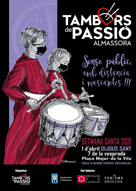 ctv-gkf-cartel-tambors-de-passi-2021-almassora