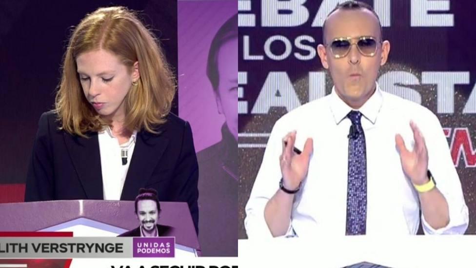 Risto Mejide para los pies a Lilith Verstrynge por la última polémica de Podemos: No me hagas la pelota