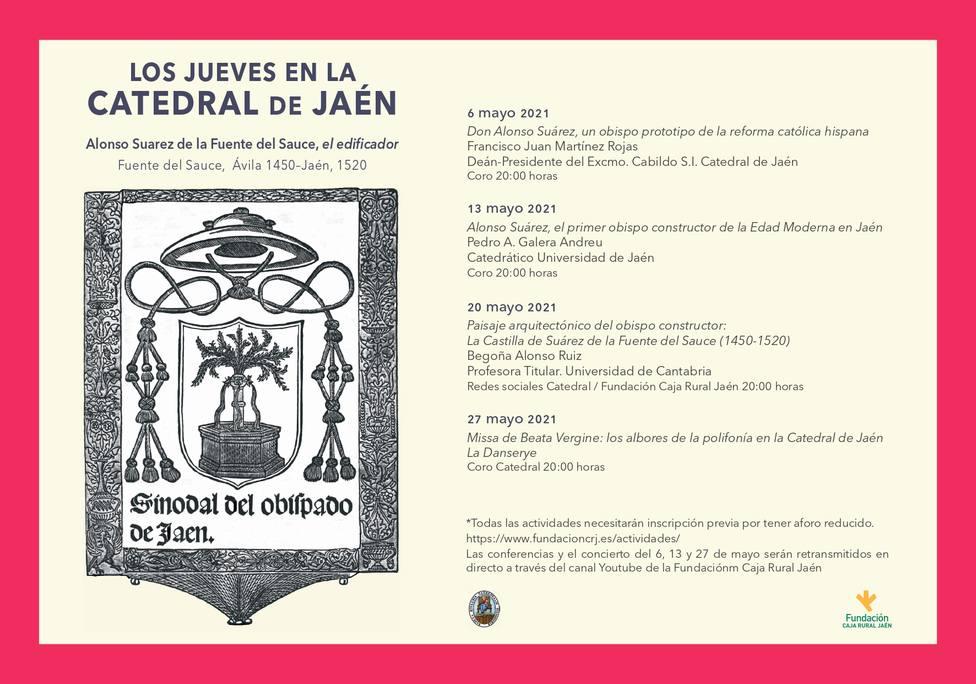 Los Jueves en la Catedral de Jaén celebra en mayo su novena edición