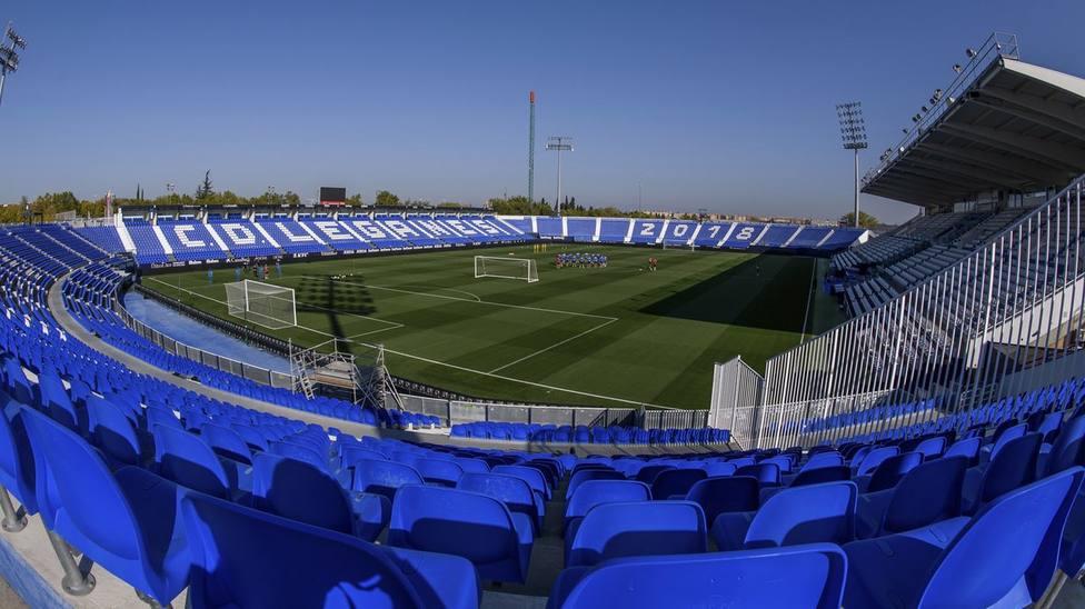 El Sporting juega en Butarque