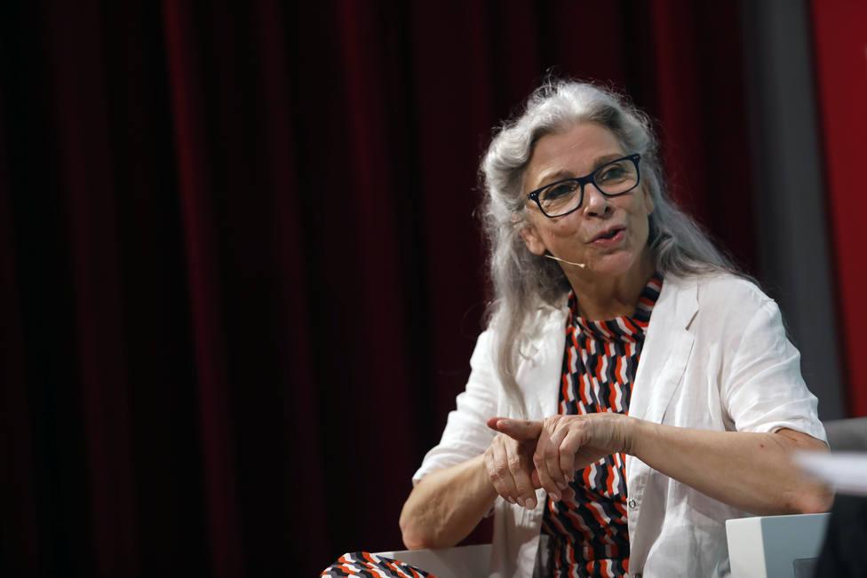 Photocall de la actriz malagueña, Kiti Manver con motivo de la entrega del Premio Ciudad del Paraíso en el 23º Festival de Málaga