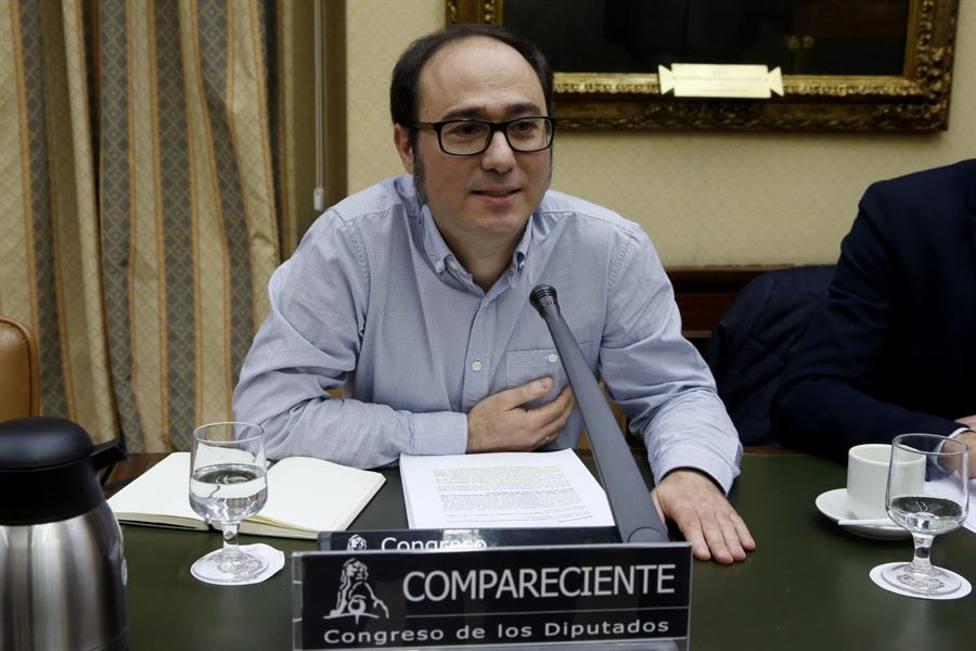 El responsable económico y financiero de Podemos, Daniel de Frutos, declara hoy por el caso niñera
