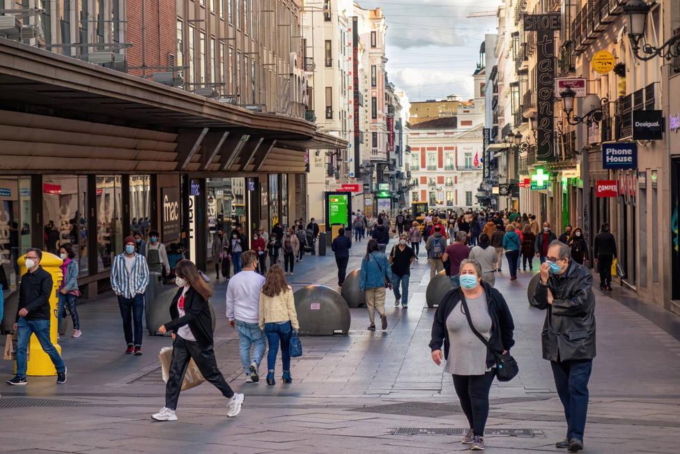 Madrid registra 3.226 nuevos positivos en el último día