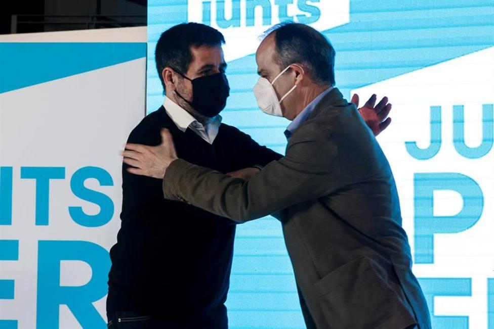 Junts enviará a dos de los indultados a la mesa de diálogo con el Gobierno: Jordi Sànchez y Jordi Turull