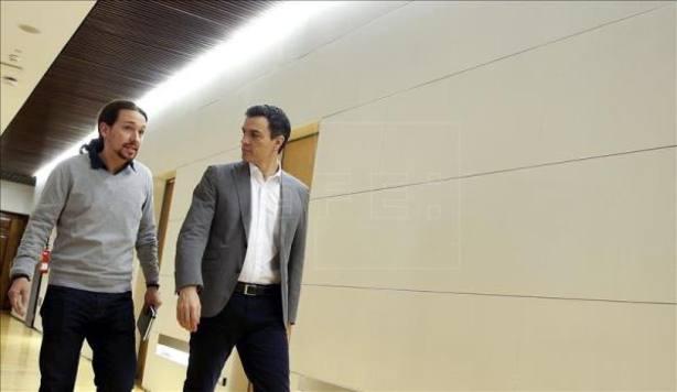 El PSOE ganaría las elecciones pero no sumaría mayoría con Podemos, según un sondeo