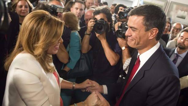Sánchez solo podría apartar a Susana Díaz con una consulta a la militancia