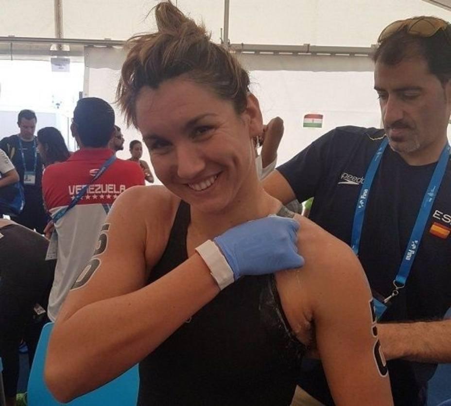 Paula Ruiz, galardonada con el premio Admiral 2018 como mejor deportista revelación