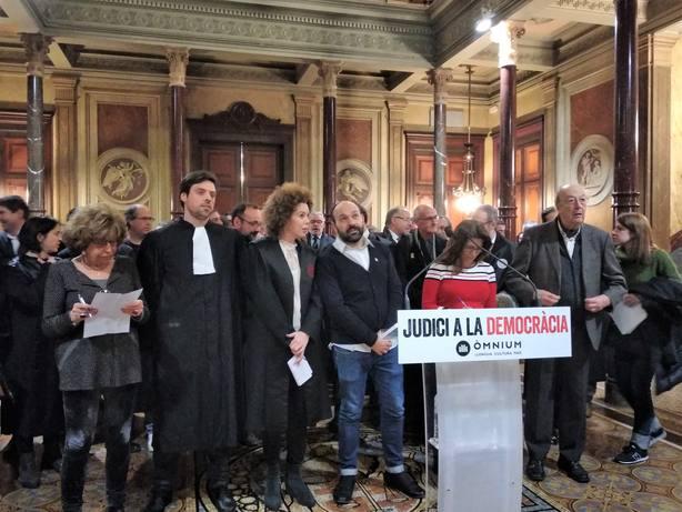 Cuixart acusará al Estado de vulnerar derechos fundamentales en el escrito de defensa