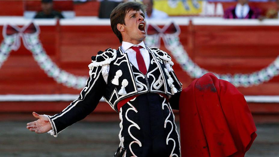 El Juli durante una actuación pasada en la plaza de toros de Manizales