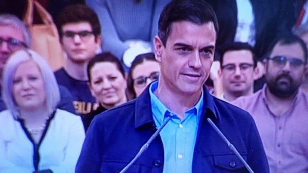 Pedro Sánchez en Murcia