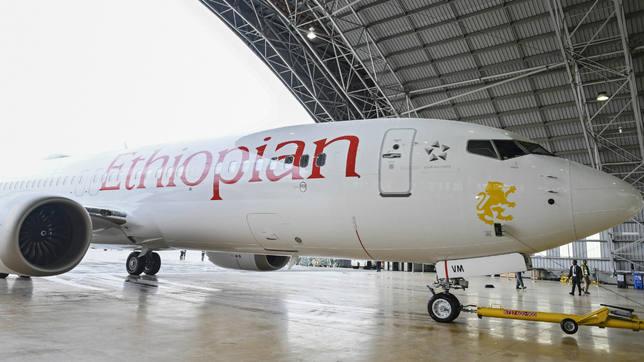 Un avión de Athiopian Airlines
