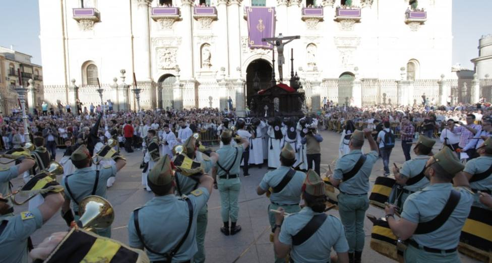 Cautivo, Perdón y Buena Muerte procesionan hoy en Jaén