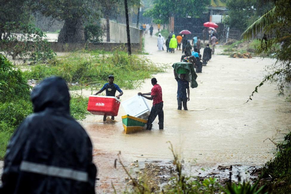 Ciclón Kenneth en Mozambique