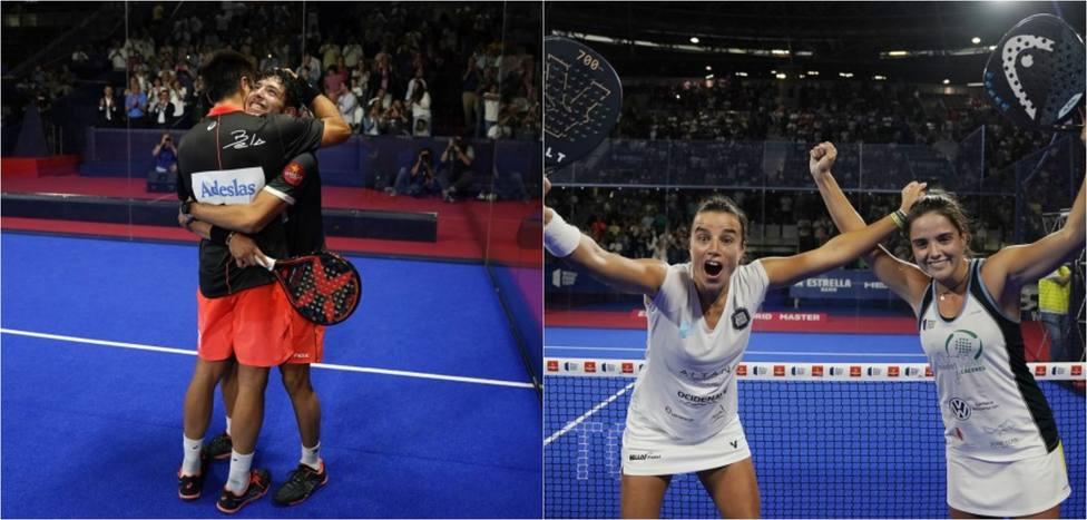 Belasteguín-Tapia y Nogueira-Josemaría reinan en el Estrella Damm Madrid Master 2019