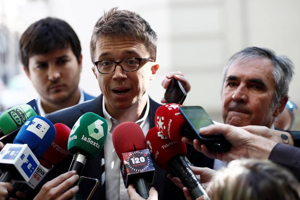 Íñigo Errejón presenta denuncia sobre Avalmadrid