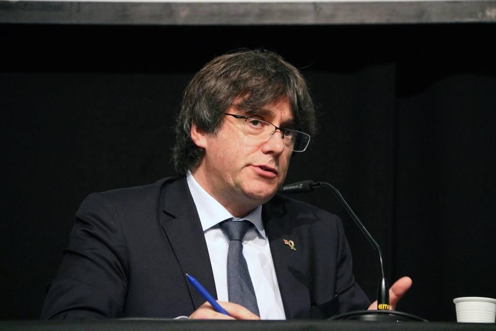 Puigdemont recuerda el 1-O como un punto de inflexión histórico
