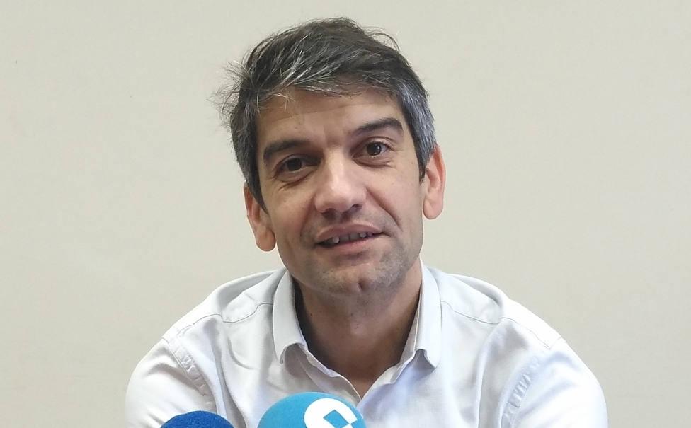 Foto de archivo de Jorge Suárez, portavoz del grupo municipal de Ferrol en Común