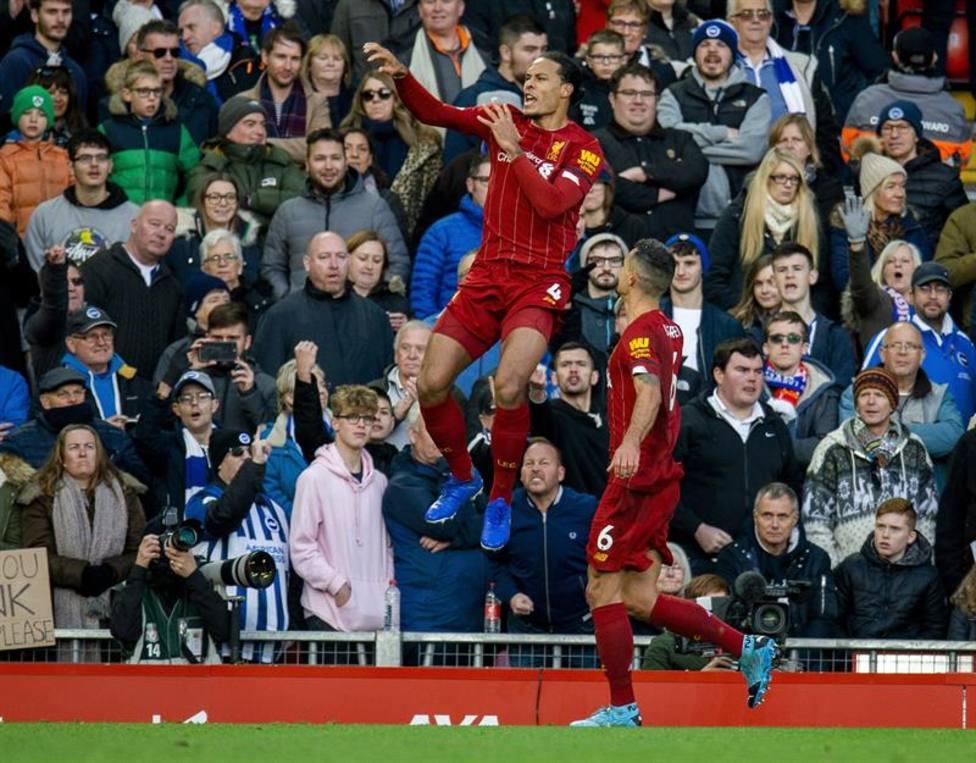 El Liverpool vence y pone tierra de por medio con el City