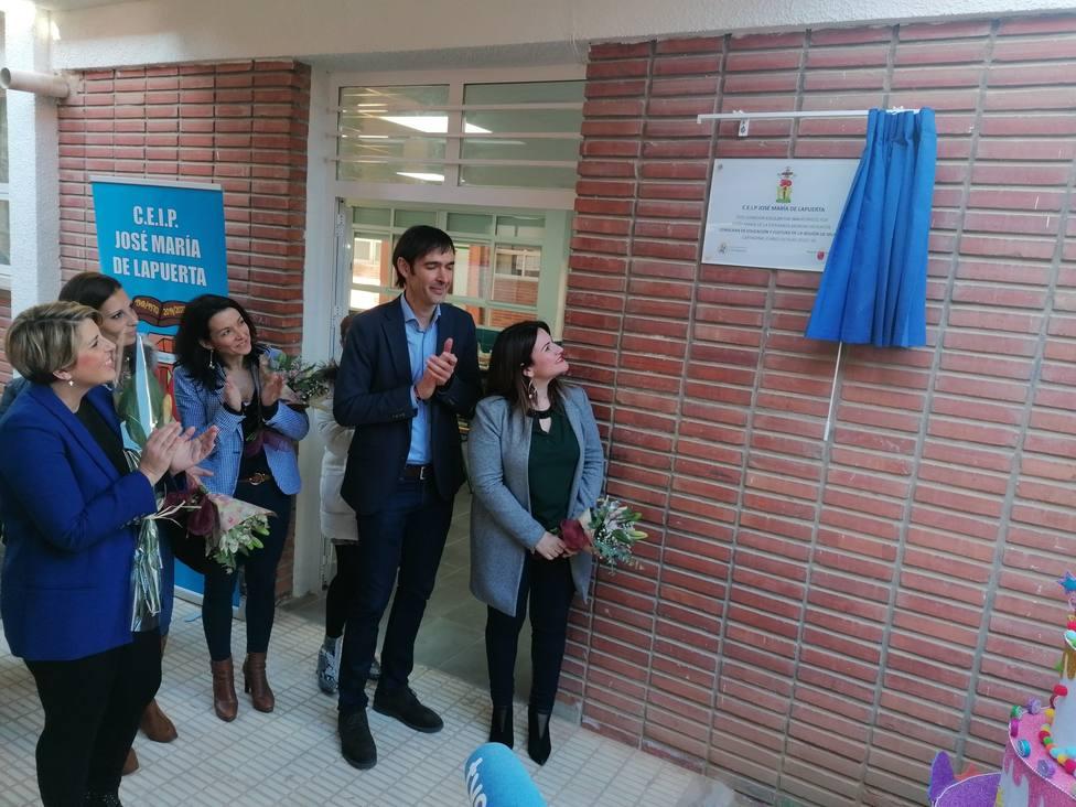 La Comunidad inaugura dos nuevos comedores escolares en Cartagena que darán servicio a 130 alumnos