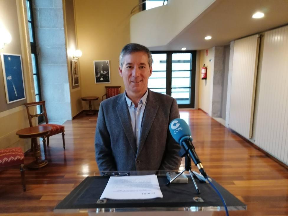 Antonio Golpe, concejal del Cultura de Ferrol