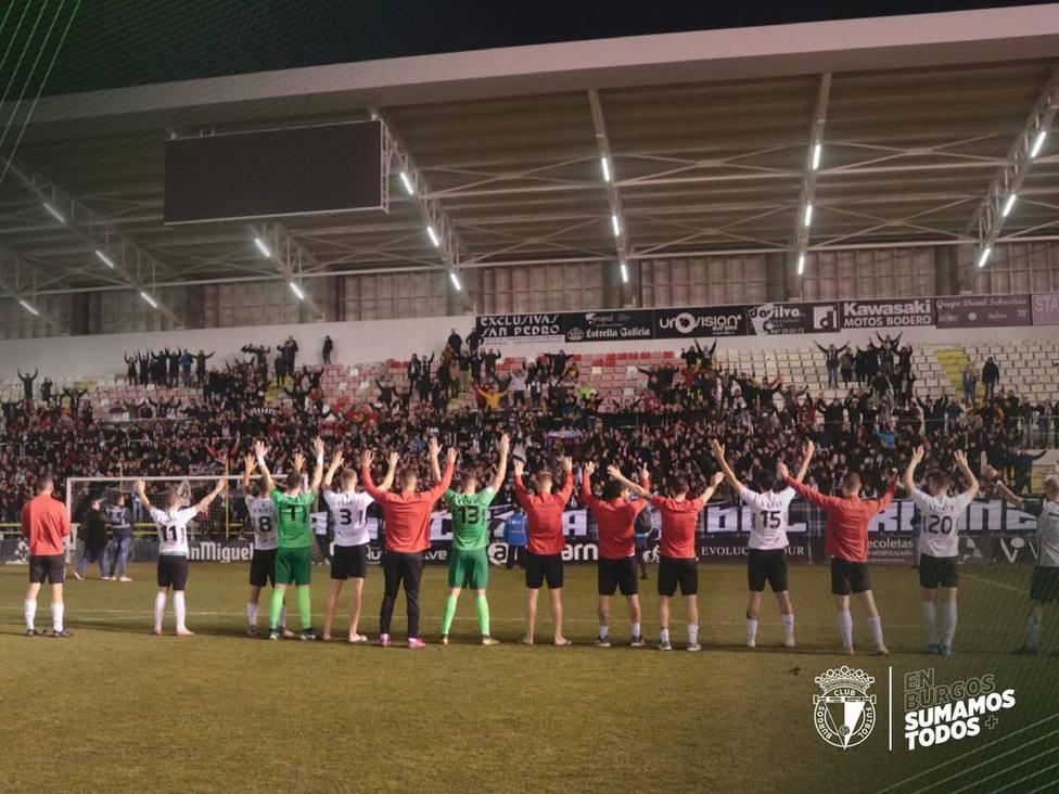 2-0. El Burgos CF se da un homenaje ante la Cultural Leonesa