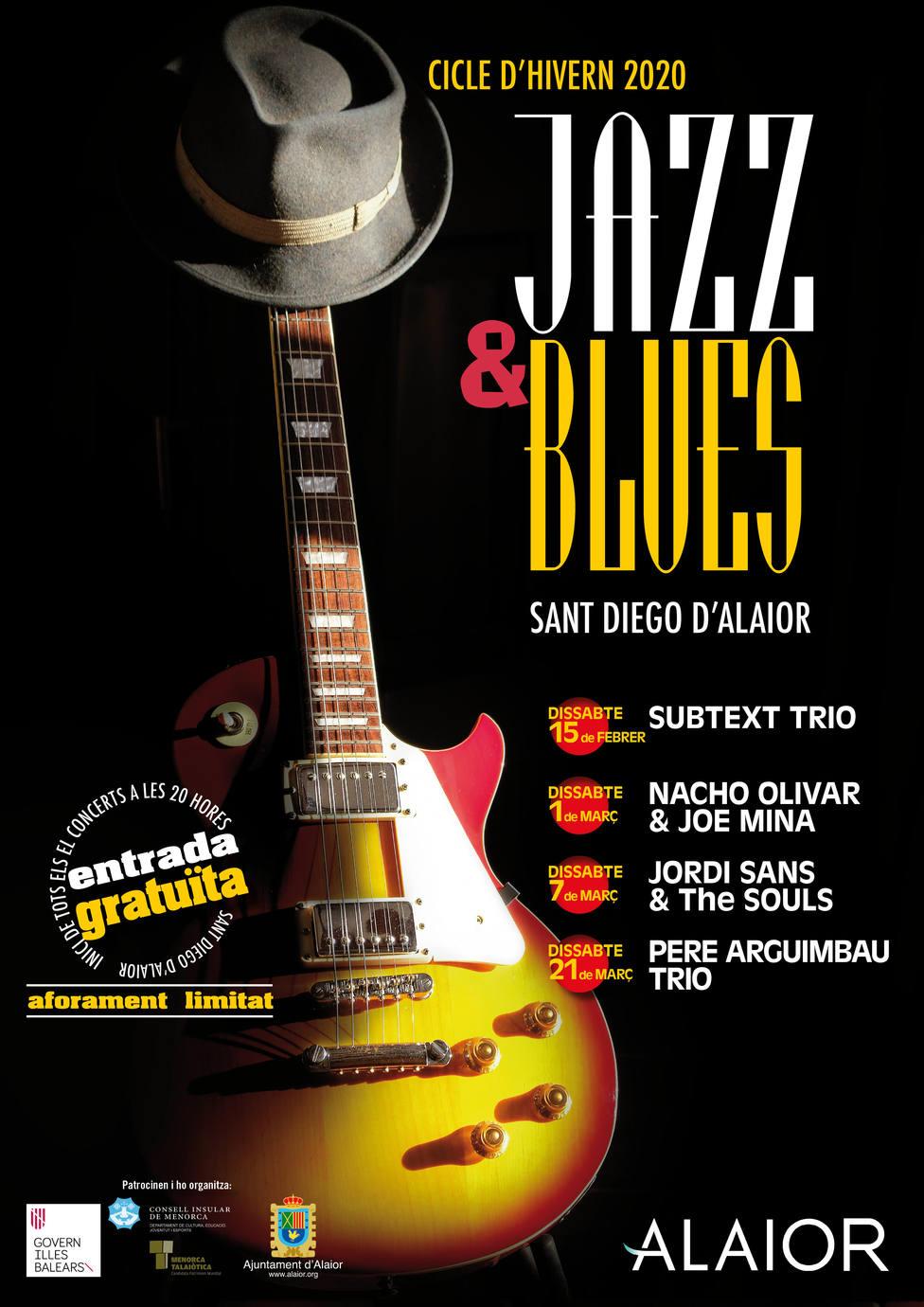 Ciclo de Invierno de Jazz & Blues en elConvento de San Diego de Alaior