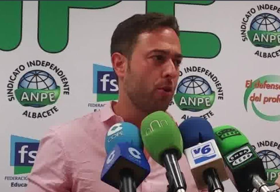 Martín Navarro, Presidente ANPE Albacete