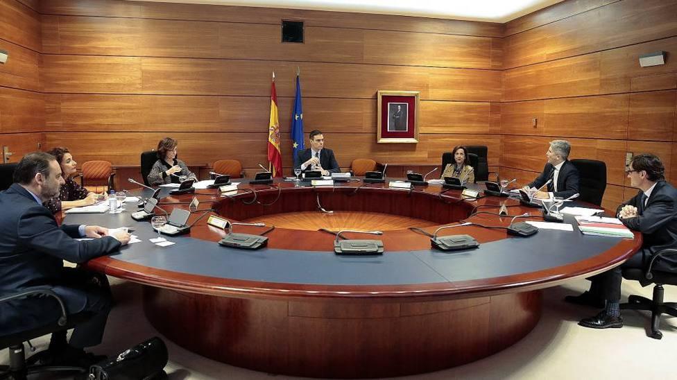 Consejo de Ministros de España con motivo del coronavirus. Foto: EPress (Archivo)