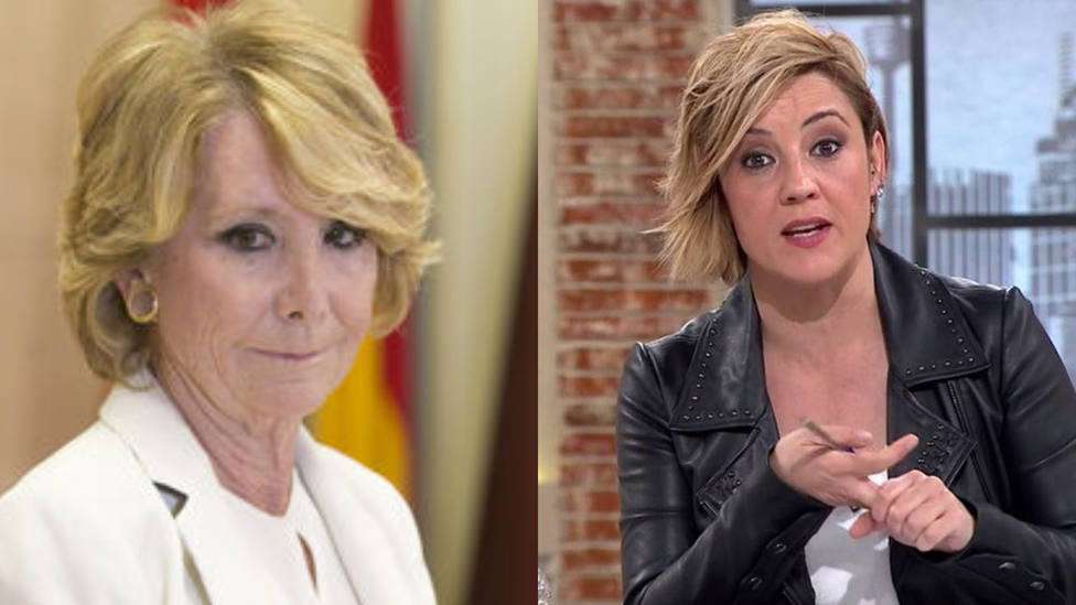 Tenso enfrentamiento entre Esperanza Aguirre y Cristina Pardo: No me hable de millones que vuelan