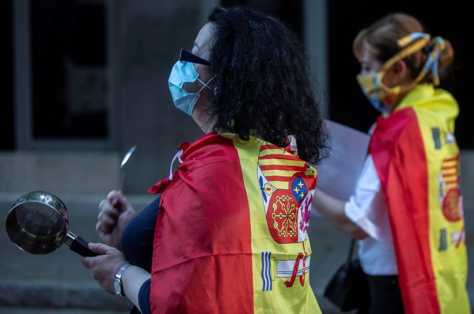 Protestas contra el Gobierno en Sevilla