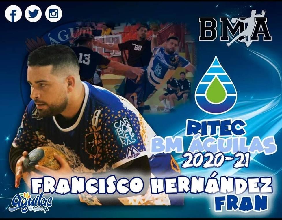 Francisco Hernández, fichaje de garantías para reforzar la posición de pivote.