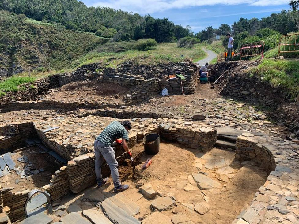 Foto de archivo de una de las intervenciones arqueológicas en O Sarridal - FOTO: Concello Cedeira