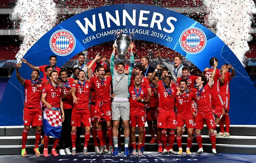 El Bayern Múnich arrebata al Real Madrid el liderazgo del ranking de coeficientes de la UEFA