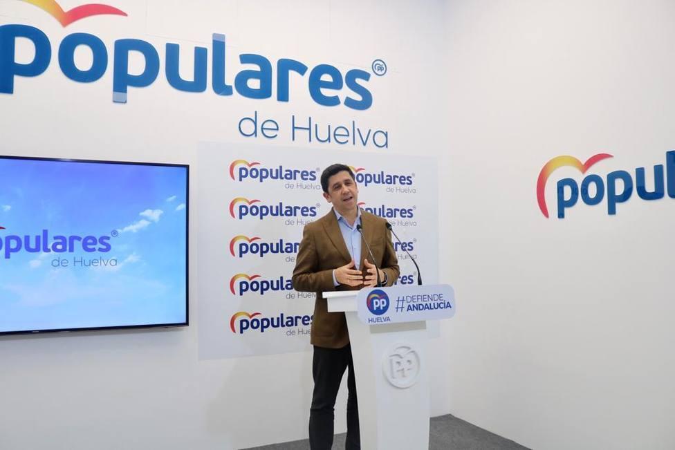 Alberto Fernández, secretario general del PP de Huelva