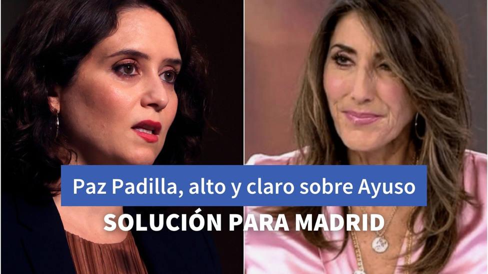 Paz Padilla, habla sobre las restricciones de movilidad de Ayuso