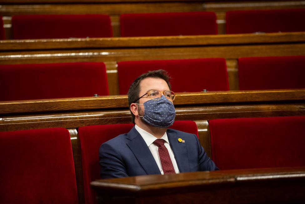 Aragonès asegura que no hay presidente hasta que el Parlament elija otro