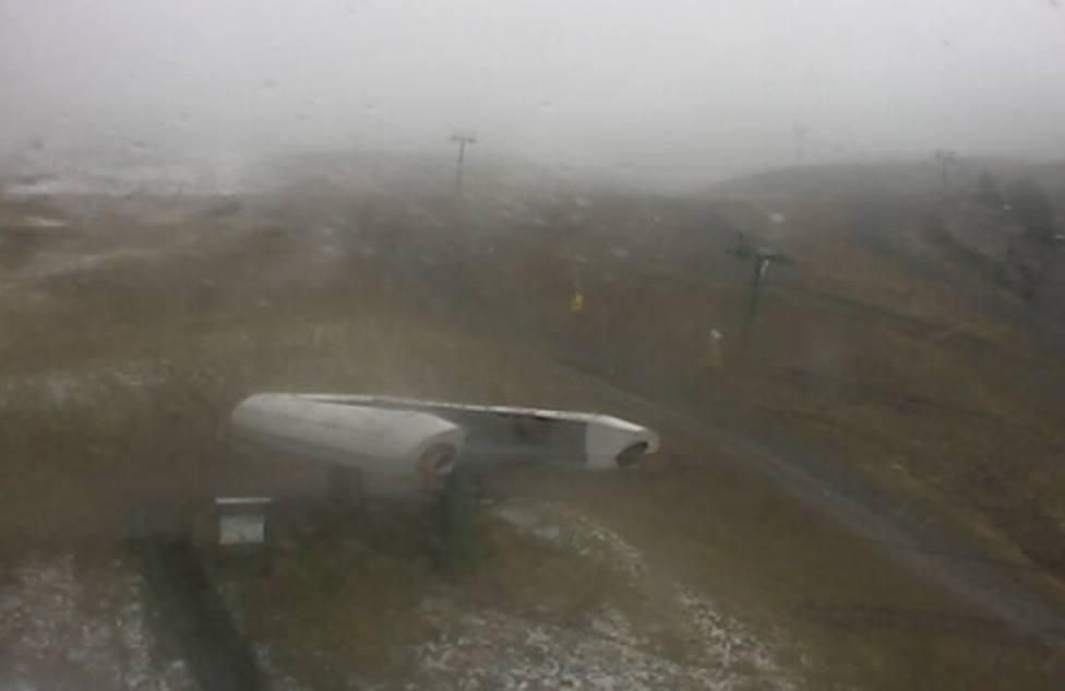 Valdezcaray registra la segunda temperatura más baja de España y vientos de hasta 127 kilómetro