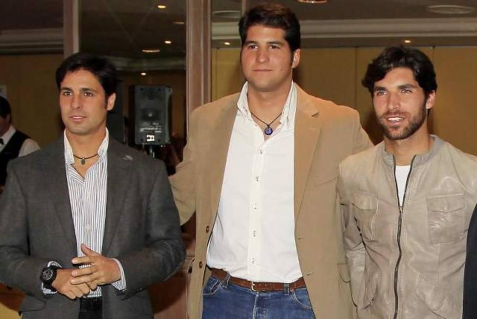Fran Rivera, Julián Contreras y Cayetano Rivera