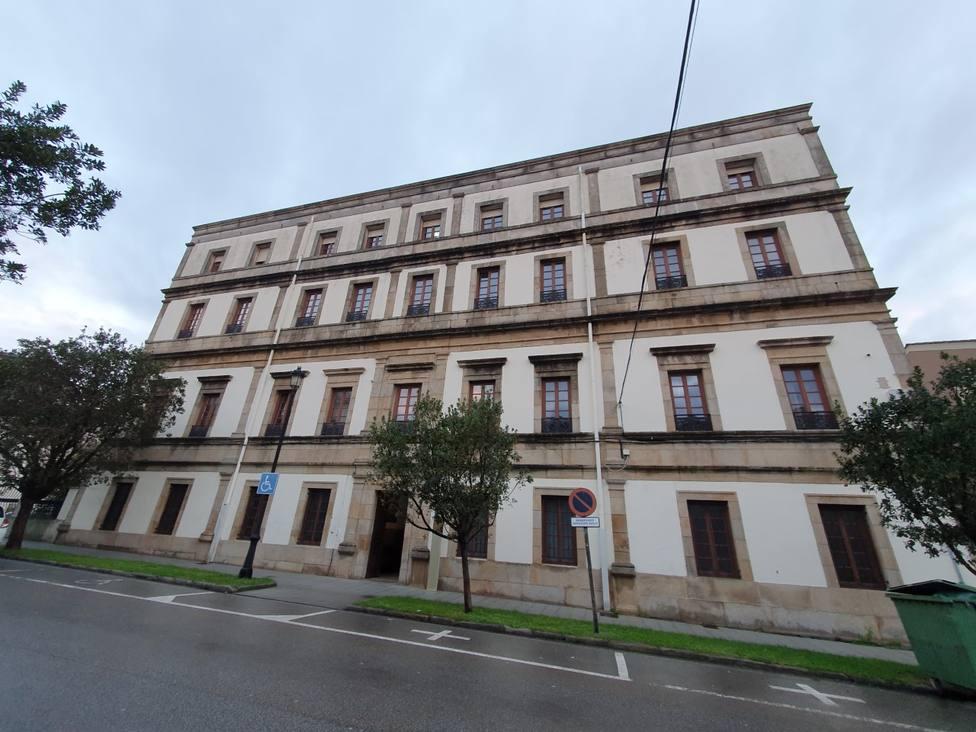 Hospital Asilo San Sebastián y San Lázaro de Ribadeo