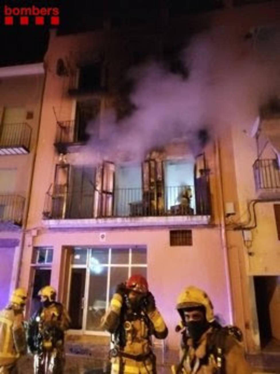 Incencio en Balaguer