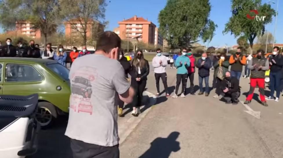 Familiares y amigos despiden en Logroño al joven ciclista fallecido al caer por un barranco en Jubera