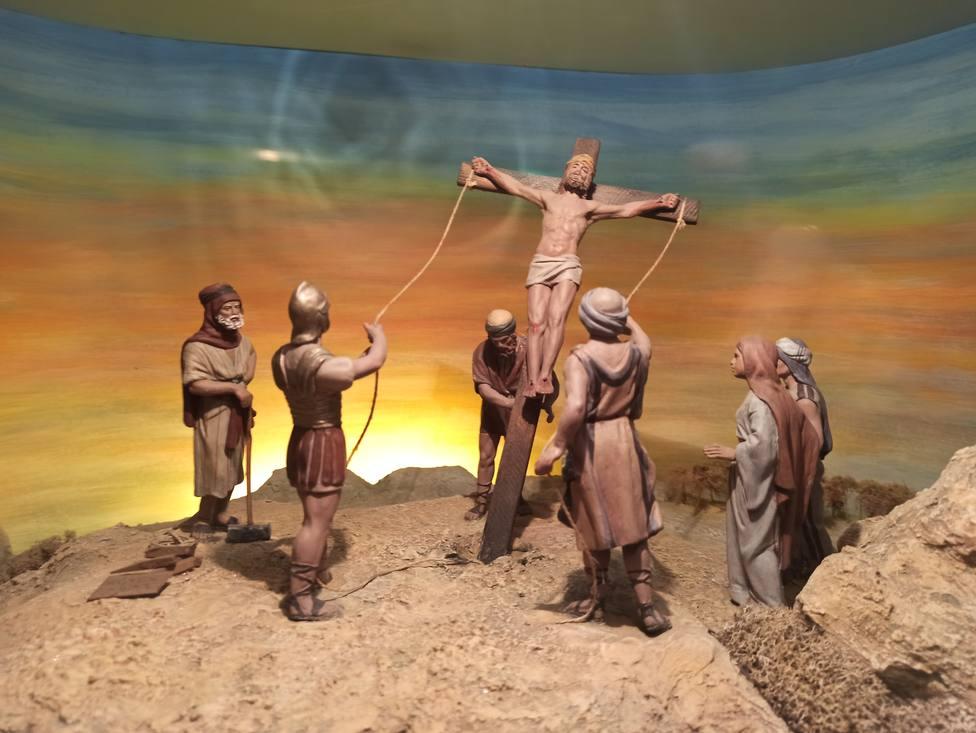 Dioramas de la Pasión en la exposición de Los Claustros 2021