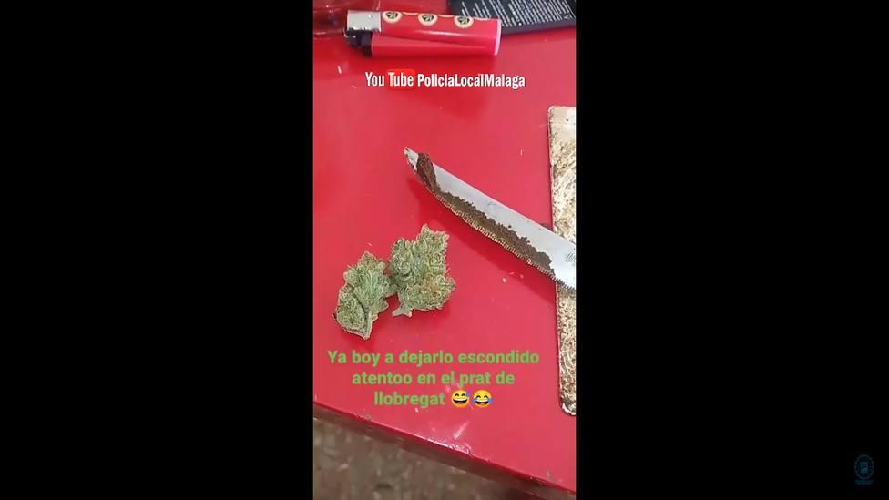 Vídeo | El novedoso método criminal que utilizaba un vendedor de droga por redes sociales