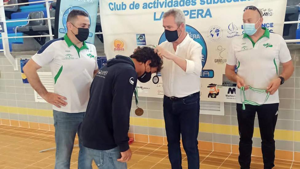 Motril se sitúa como referencia de la apnea o buceo libre en Andalucía